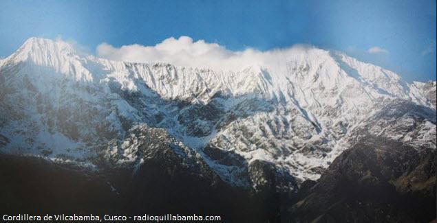 nevados en los Andes Peruanos