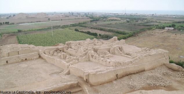 Sitio arqueológico en Chincha