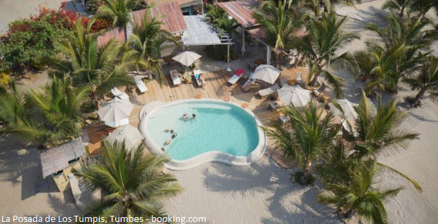 Pool in The Inn of The Tumpis in Tumbes