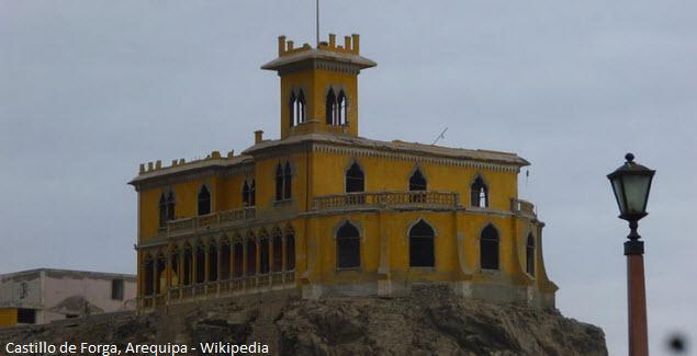 castillo de Forga en Mollendo