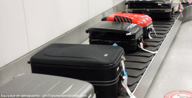 Luggage delayed or lost in the airport