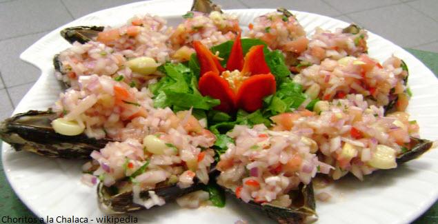 recipe of choritos a la chalaca