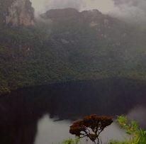 Laguna de los cóndores en Amazonas