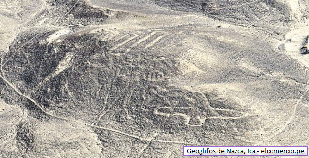 geoglyphs of Nazca in Ica