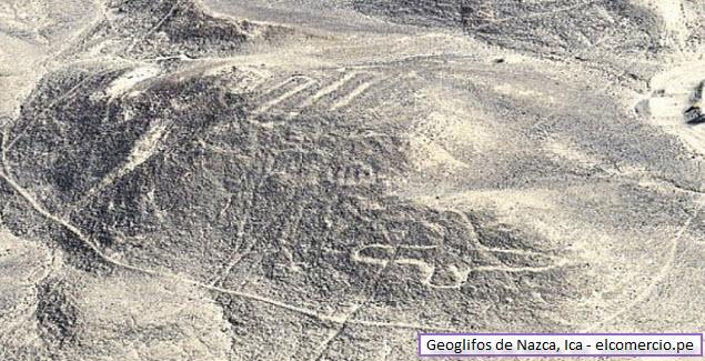 geoglifos de Nazca en Ica