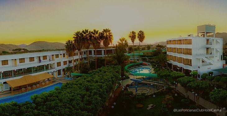 Hotel Las Poncianas en Casma, full tranquilidad en Ancash