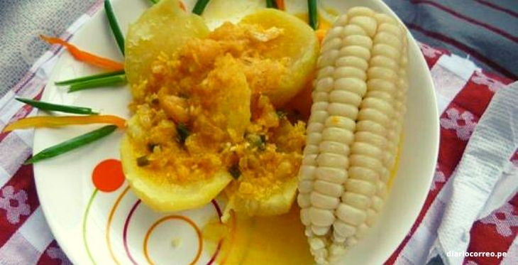 Imagen de plato con picante de queso de Huánuco (cortesía diario Correo)