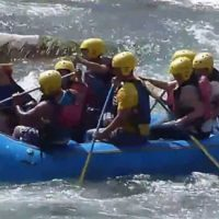 Deportes de aventura en Lunahuaná como canotaje