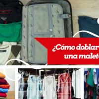 Tips para doblar ropa en una maleta de viajes