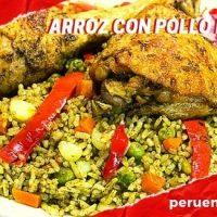Imagen del arroz con pollo peruano en Perú en Vídeos