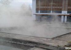 Imagen de las aguas termales en Los Baños del Inca en Cajamarca
