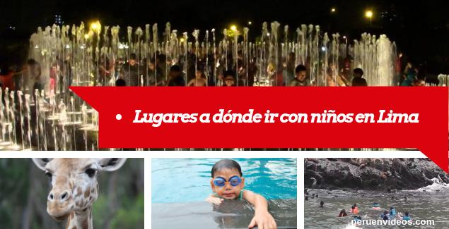 Lugares a dónde ir con niños en Lima