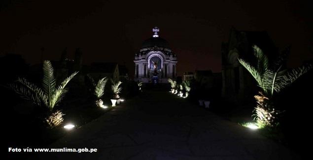 Tour Nocturno Cementerio Presbítero Maestro: Halloween Lima