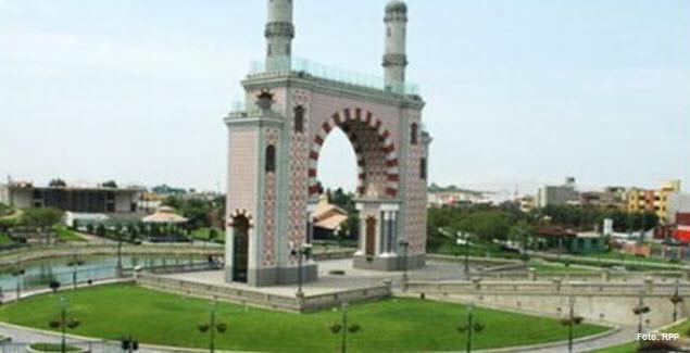 Arco Morisco del Parque de la Amistad en Surco