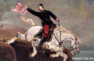 Alfonso Ugarte en batalla de Arica