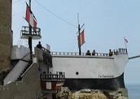 Réplica del buque chileno Covadonga del Castillo de Chancay
