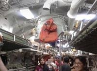 Foto de interiores y la historia del Submarino Abtao del Callao
