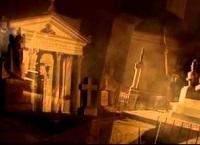 Criptas de noche en el Cementerio General de Lima - Foto vía YouTube