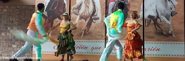 Show de danzas típicas del Perú en el Restaurante Dppaso Mamacona