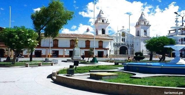 Plaza de Armas de Jaula en Junín