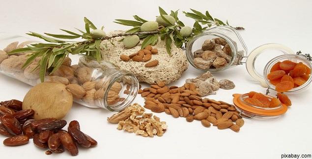 Los Frutos Secos son alimentos energéticos muy durables