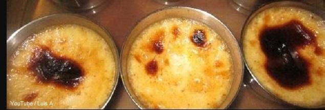 Imagen de leche asada en el horno