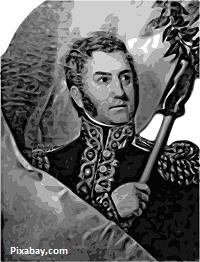 Libertador José de San Martín - Imagen de OpenClipart-Vectors en Pixabay.