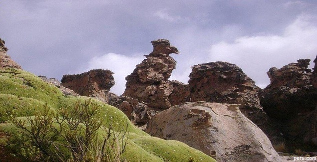 Imata asombra con extrañas figuras en Bosque de Piedras en Arequipa