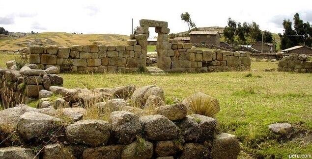 Complejo arqueológico Uchkus Inkañan en Huancavelica