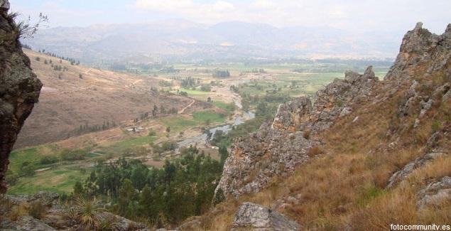 Callacpuma es el refugio de pinturas rupestres en Cajamarca