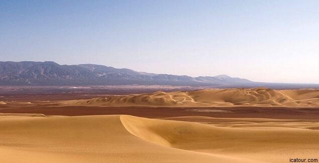 Desierto de Usaka en Ica