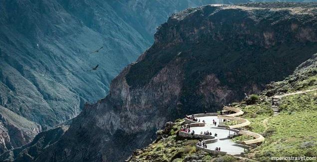 El mirador del Valle del Colca en Arequipa