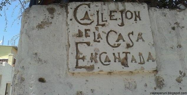 Leyendas de la Casa Encantada de Yanahuara en Arequipa