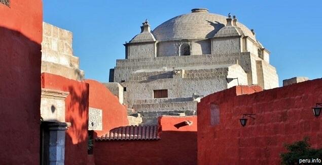 Monasterio de Santa Catalina en Arequipa. Horarios