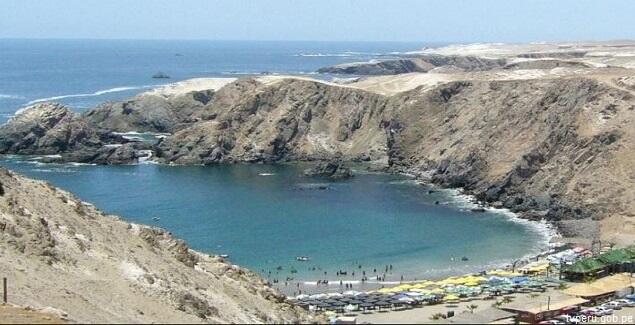 playas de arequipa mapa