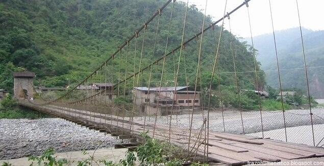 Puente Kimiri: El puente colgante más viejo de Chanchamayo