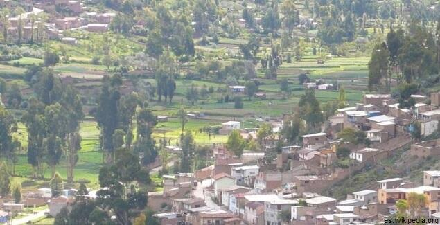 Paisaje de Tarma en Junín en el post leyendas de tarma junin post peru en videos