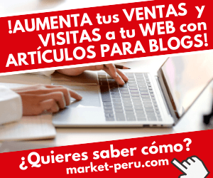 Servicio de redacción de artículos para blog y webs de market-peru.com