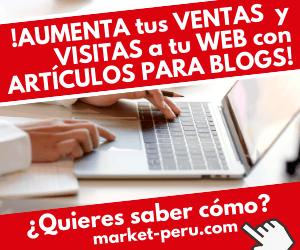Servicio de redacción de artículos para blog y webs de market-peru.com