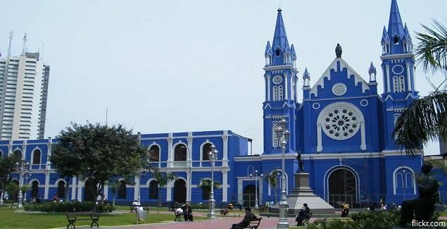 Conozca la única iglesia de Lima con pararrayos