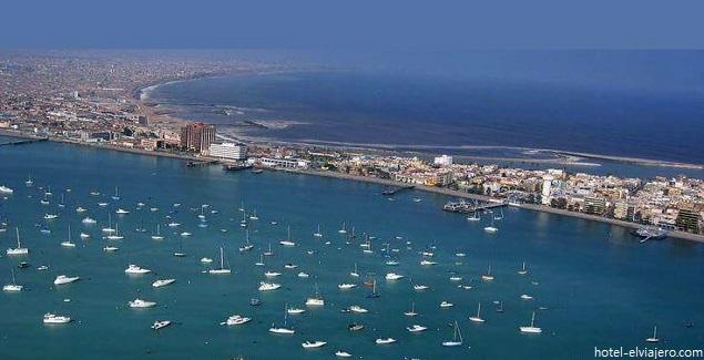Vista panorámica de la Punta en el Callao