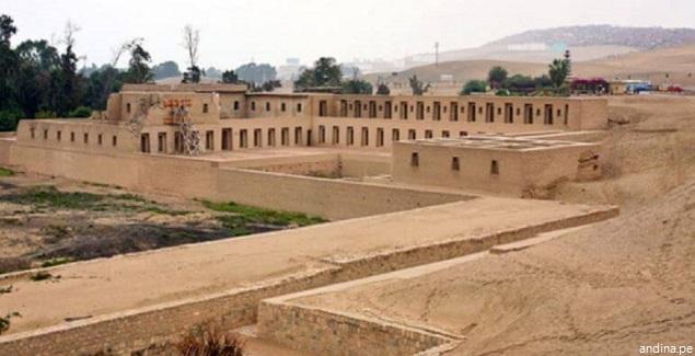 Visita las Ruinas de Pachacamac en Lurín