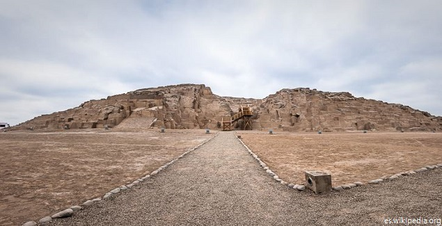Huaca Mateo Salado luce avanzada recuperación