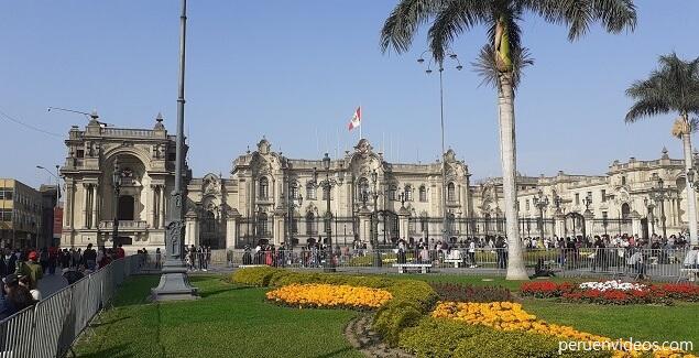 Visitas guiadas al Palacio de Gobierno del Perú