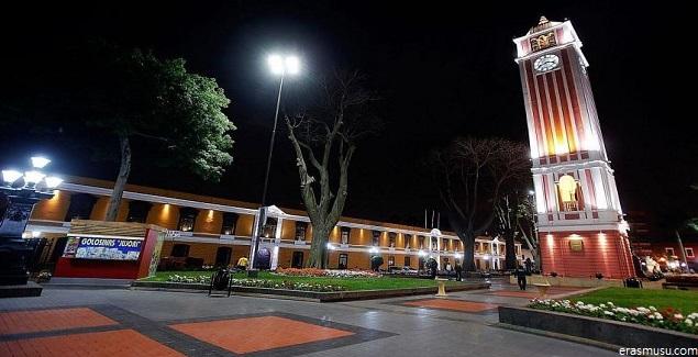 Parque Universitario, escenario de la lectura en el centro de Lima