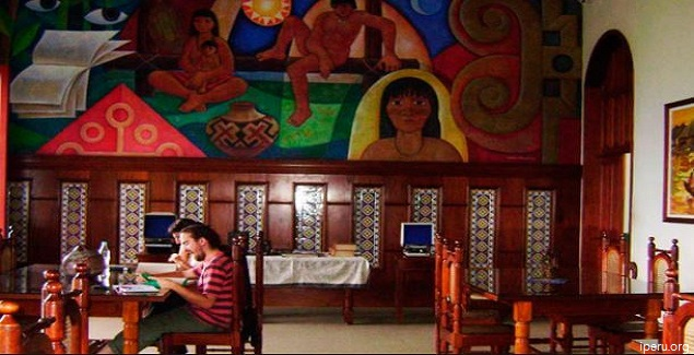 Visite la Biblioteca Amazónica en la ciudad de Iquitos