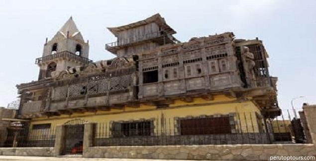 Punta Negra tendría el castillo más exótico del Perú