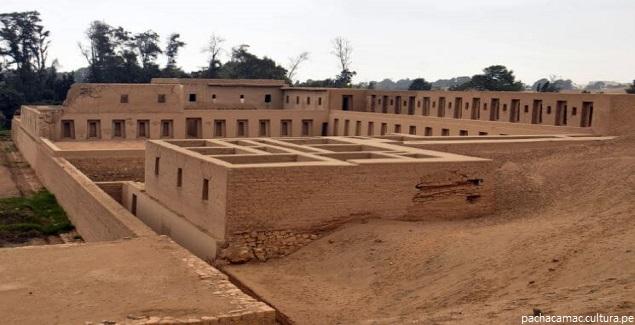 La Fortaleza de Pachacámac, maravilla del Perú