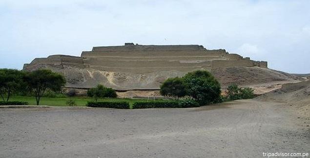 La Fortaleza de Paramonga, impresionante construcción piramidal