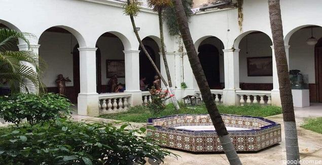 Interior del Museo Etnográfico en Iquitos